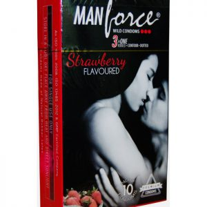 MANFORCE STRAWBERRY WILD CONDOM