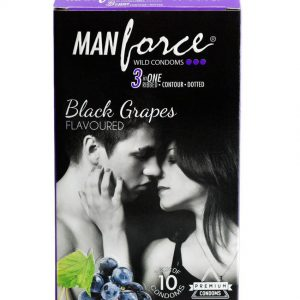 Manforce Black Grapes Premium condoms