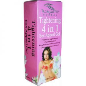 romantic herbal tightening 4 in 1 gel grande